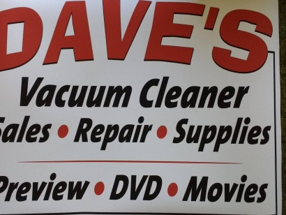Dave's Vacuum Cleaner & Video Sales