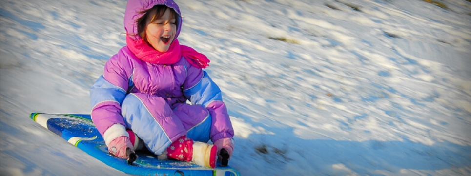 Winter - Sledding