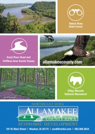 Allamakee County Economic Development Unveils New Postcard