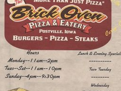 Brick Oven Pizza & Ice Cream Eatery
