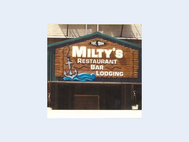 Milty's Restaurant Bar & Lodging (also catering)